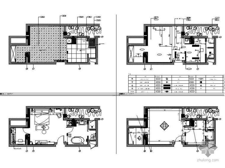 某酒店K-7型标准房立面图_1
