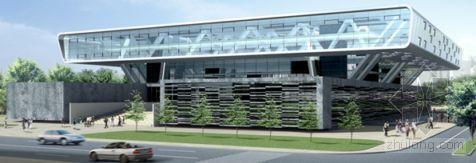 北京某大型图书馆钢结构施工方案