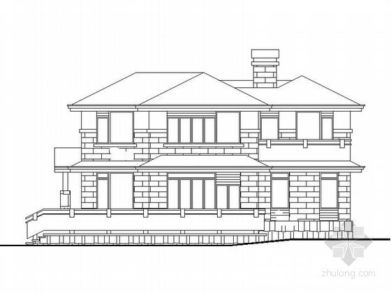[新农村] 2层欧式别墅施工图(含效果图)