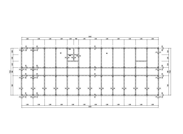 [七层]6062平米框架教学楼(计算书、建筑、结构图、中英文)