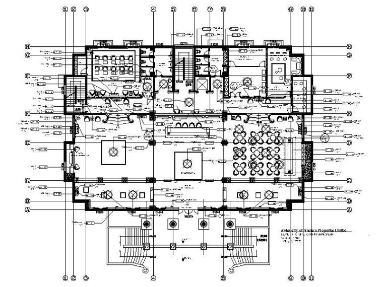 [辽宁]欧式售楼处及会所设计施工图(含效果图)