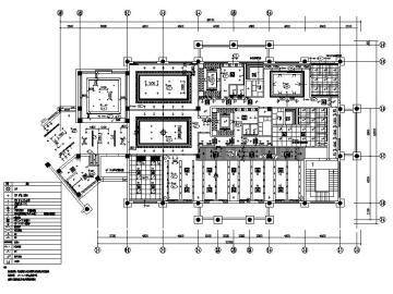 现代简约大型高档会所室内设计施工图(含效果图)