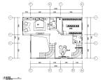 简约欧式风格两层别墅设计施工图(附效果图)
