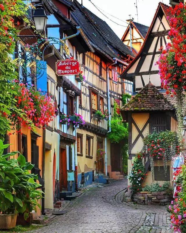 世界上最美的7个鲜花小镇子,这辈子一定要去一次!_35