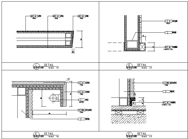 【海南】CCD-三亚国际酒店设计施工图(附效果图)_3