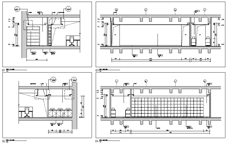 [广东]贸易公司办公楼设计施工图(附效果图)
