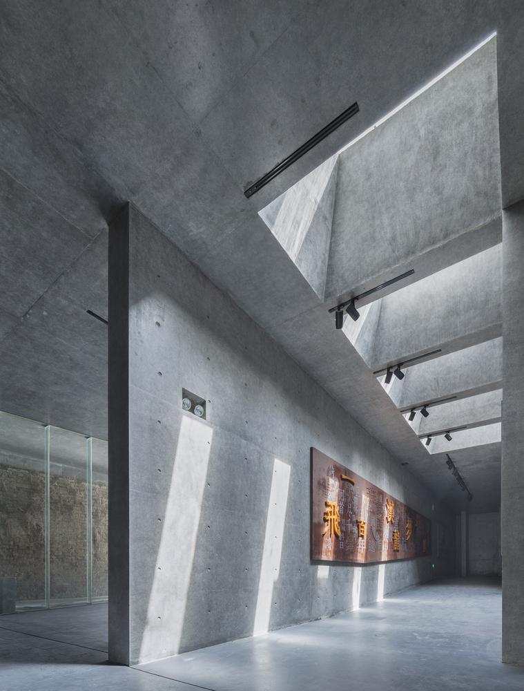 徐州现代语境表现的城墙博物馆内部实景图 (12)