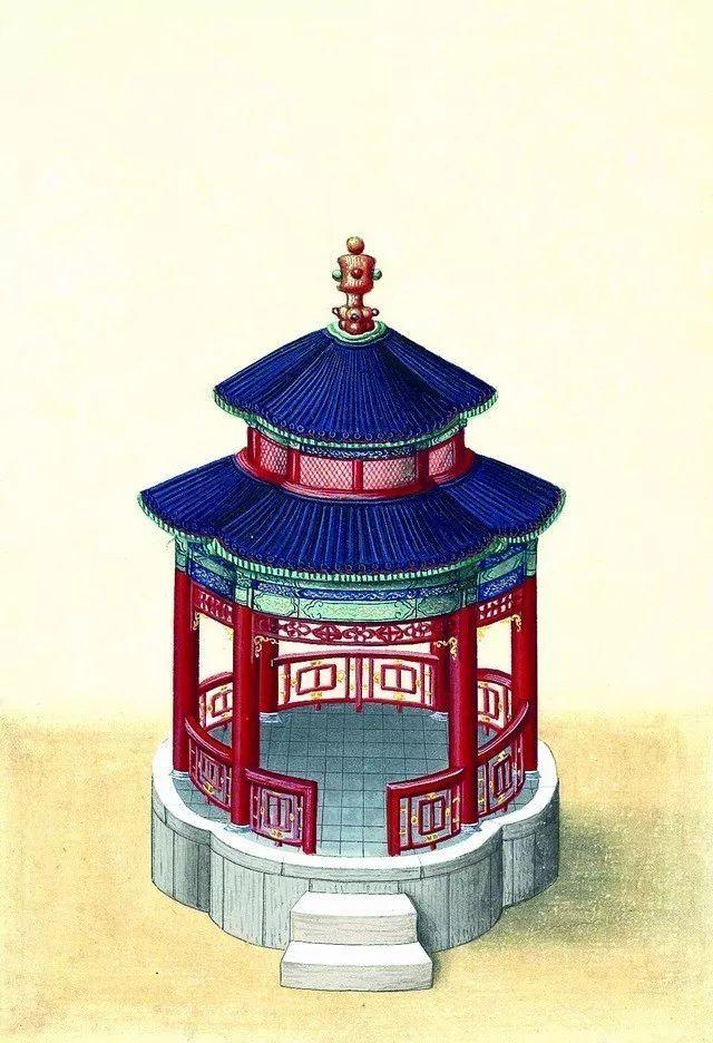 另一个视角:外国人画笔下的中式古典建筑_8