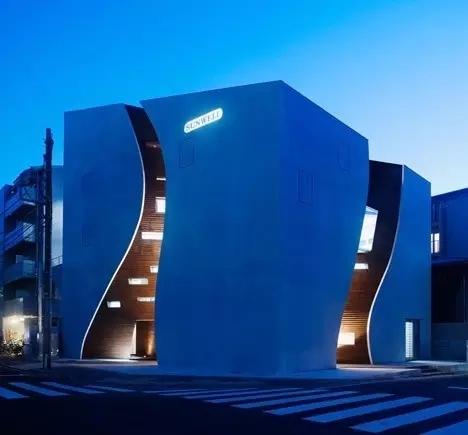 创意还是奇葩?来看看日本这些让人眼前一亮的建筑!_20