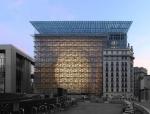 位于布鲁塞尔的新欧盟总部大厦投入使用