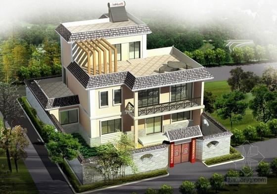 [合集]7套新农村自建房建筑施工图(含效果图)