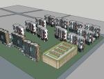 盐城盒子住宅建筑设计SU精模型