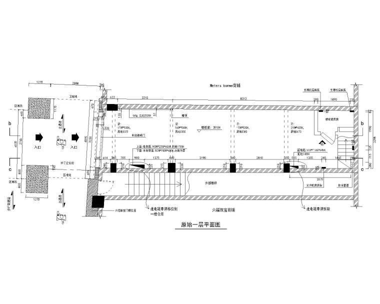 广州市北京路西铁城旗舰店装修施工图(附效果图15张)