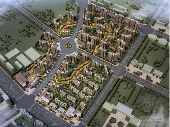 [安徽]居住区规划及单体设计方案文本(国外知名事务所)
