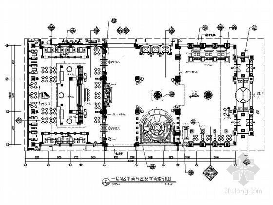 [山东]奢华假日五星级温泉度假中心装修设计图
