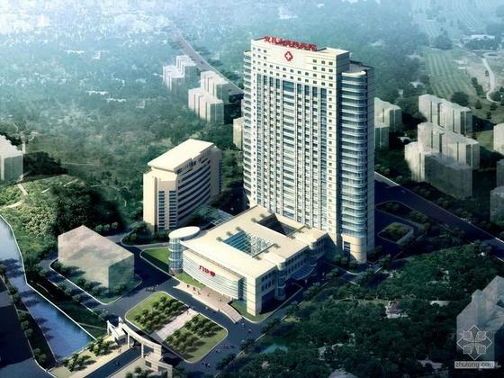 [宜昌市]某医院总体规划及医疗大楼方案设计文本方案一