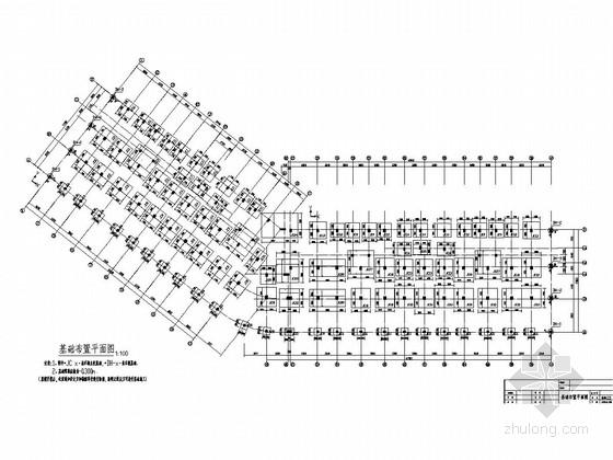 [湖北]地上8+1层框架结构商住楼结构施工图