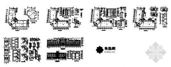 某四层厂房建筑设计图-4