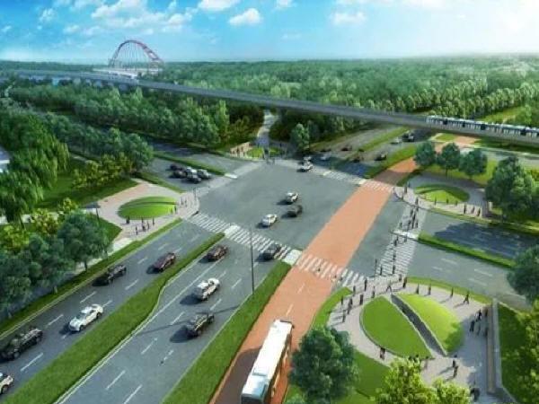 市政道路节点交通设计浅谈