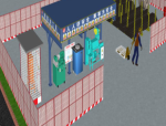 BIM技术在三维施工空间中的应用