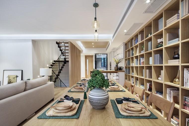 上海现代风格别墅样板间-6
