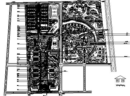韦德娱乐1946老虎机_40套大学校园规划总平面图CAD方案图纸_9