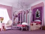 粉色卧室3D模型下载