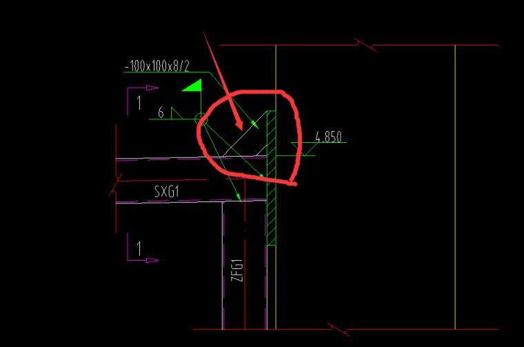 这个角的钢构件,怎么算工程量,这是个什么钢构件
