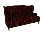欧式长沙发3D模型下载