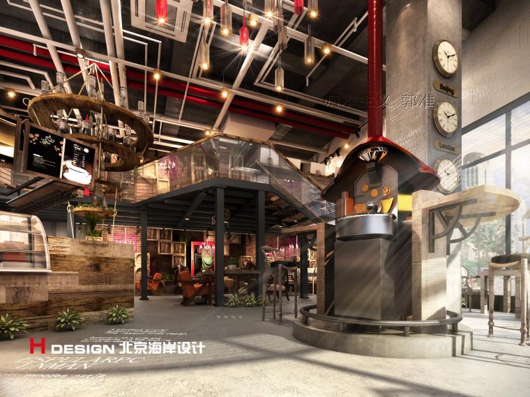 归本主义设计作品——上海忆咖啡设计方案_2