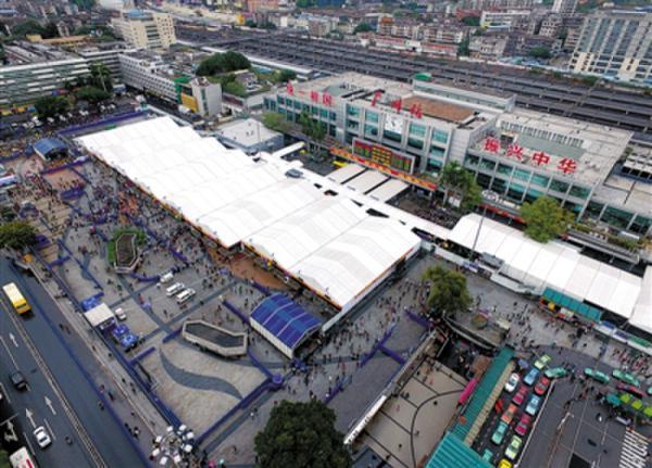 广州火车站主体建筑要拆 尚未有明确计划