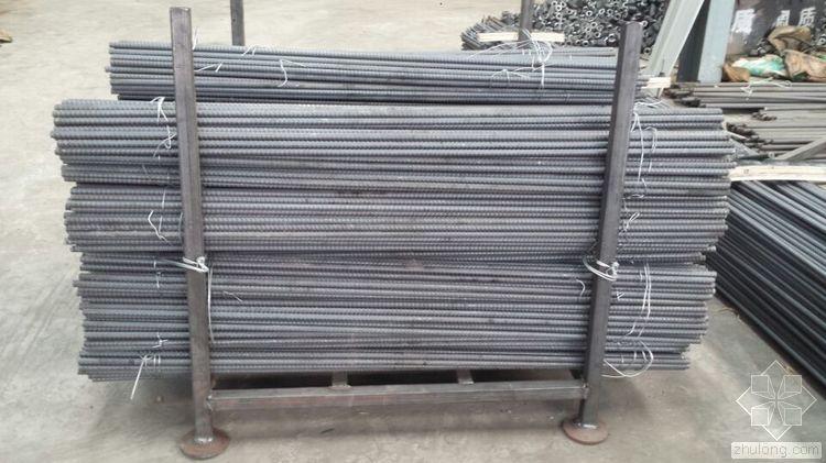 无粘结精轧螺纹钢筋及锚固体系及其施工方法