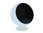 球形沙发3D模型下载