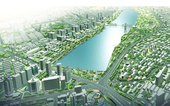 [广西]南宁环南湖地区控规详细性规划方案文本