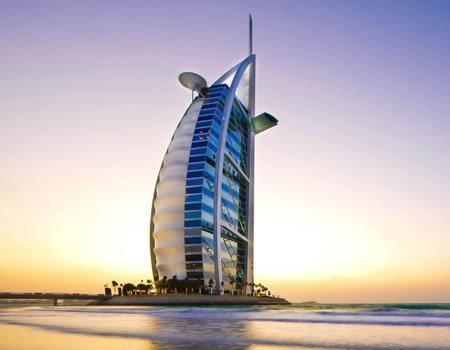 建筑结构选型-迪拜帆船酒店的结构解决方案