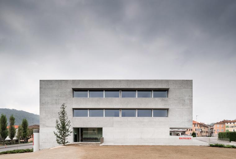 瑞士Raiffeisen银行大楼