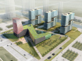 现代办公建筑3D模型下载