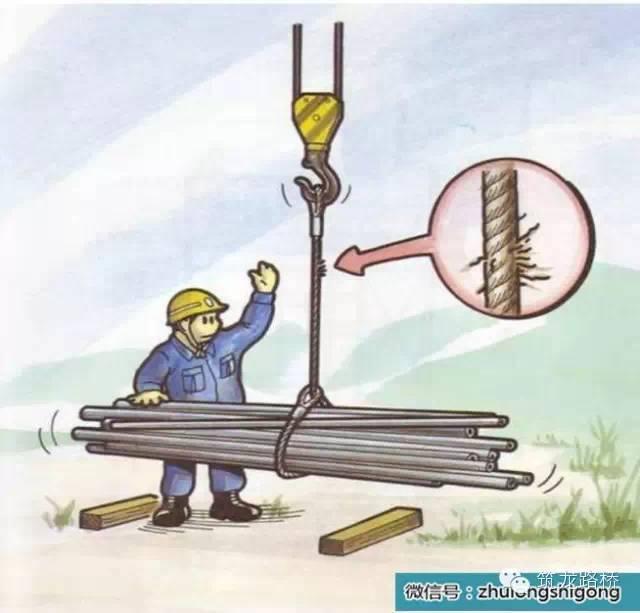 工地施工危险及安全对策漫画图集,一定要记住!