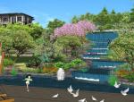 [湖南]森林山脚下生态宜居别墅大盘景观设计全套图纸(方案文本+CAD施工图+实景图)