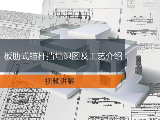 板肋式锚杆挡墙识图及工艺介绍