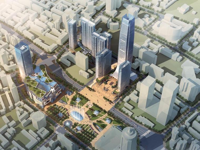 [广东]某广场商业建筑项目总体概念方案文本(PDF+104)