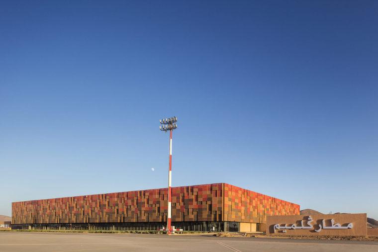 摩洛哥可拓展性盖勒敏机场-1