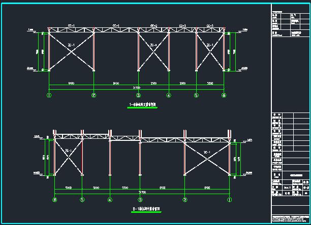 菜市场管桁架施工图_8