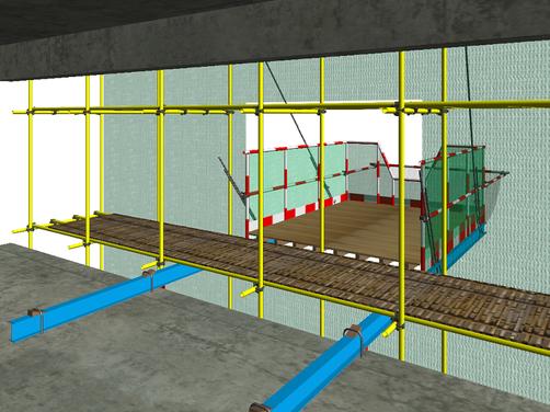 悬挑式卸料平台制作施工技术交底,有详细做法示意图!