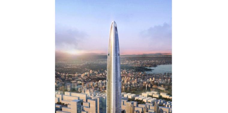 [武汉绿地中心项目]F34-F36层伸臂桁架层外框钢结构专项施工方案