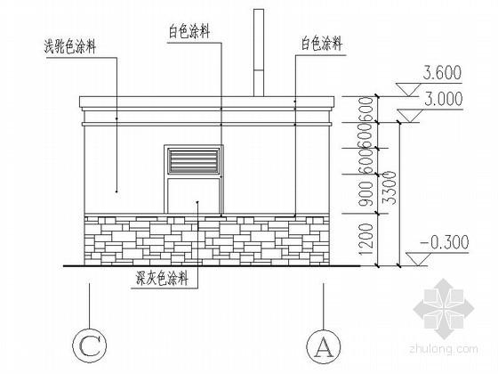 [合集]20套建筑小品——公厕建筑施工图及方案文本_23