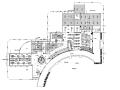 [福建]厦门某高速公路服务区中式餐厅装修图(含效果图)