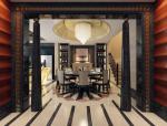 欧式餐厅3D模型下载
