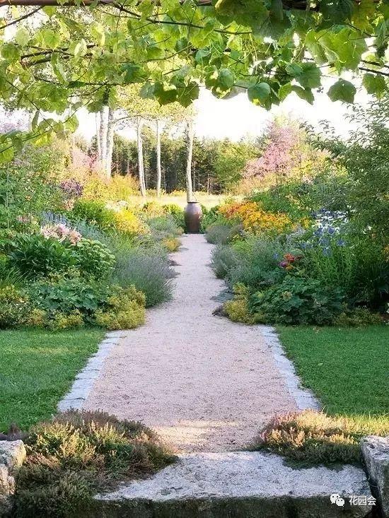 花草与石板的关系•花园小径_6