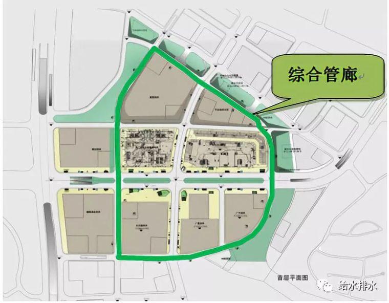 给水排水 |广州万博中央商务区综合管廊消防设计